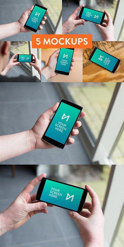 5x OnePlus One mockup