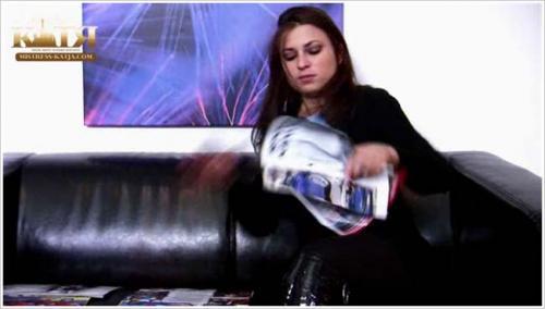 Mistress-Katja - I destroy your collected magazines loser