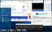 Windows 10 Pro 14997.1001 rs2 PIP by Lopatkin (x64) (2017) [Rus/Eng]