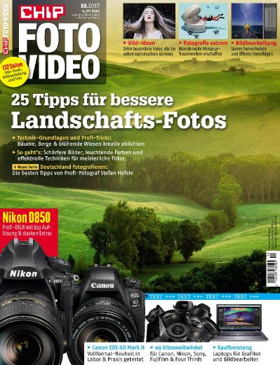 Chip Foto Video Germany  Oktober (2017)
