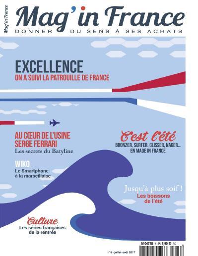 Mag in France  Juillet Ao 251 t (2017)