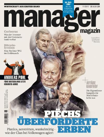 Manager Germany No 11  November (2017)