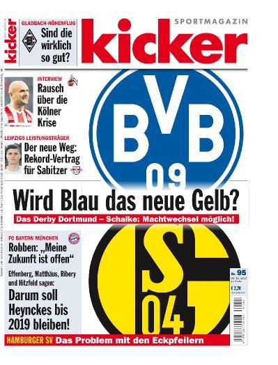 Kicker No 95  23 November (2017)