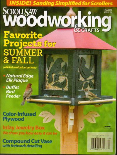 ScrollSaw Woodworking & & Crafts   Fall (2018)