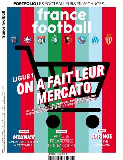 France Football N 3816 Du 9 Juillet (2019)