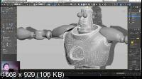 3D моделирование в 3ds max. Базовый уровень + Бонусы (2019)