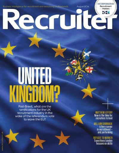 Recruiter   August (2016)