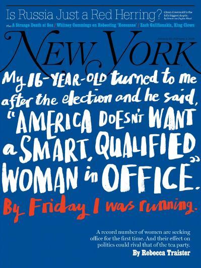 New York Magazine  January 22 (2018)