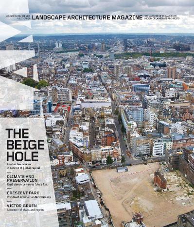 Landscape Architecture Magazine USA   July (2018)