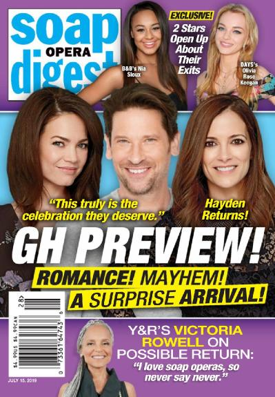 Soap Opera Digest   July 15 (2019)