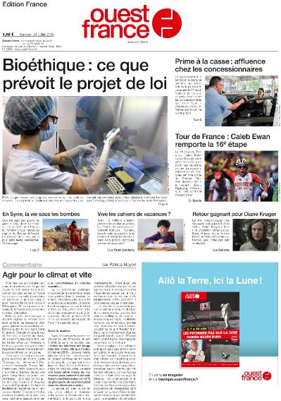 OuestFrance   2019 07 24