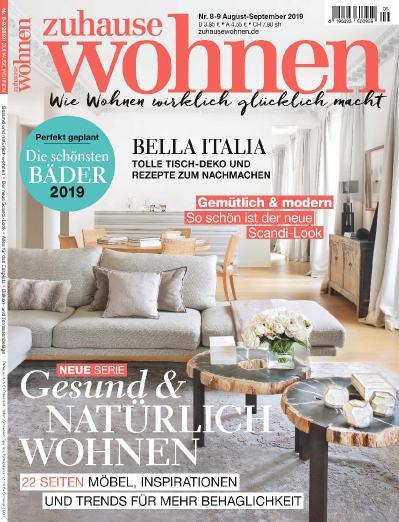 Zuhause Wohnen   August September (2019)