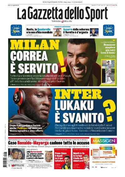 La Gazzetta dello Sport   23 07 (2019)