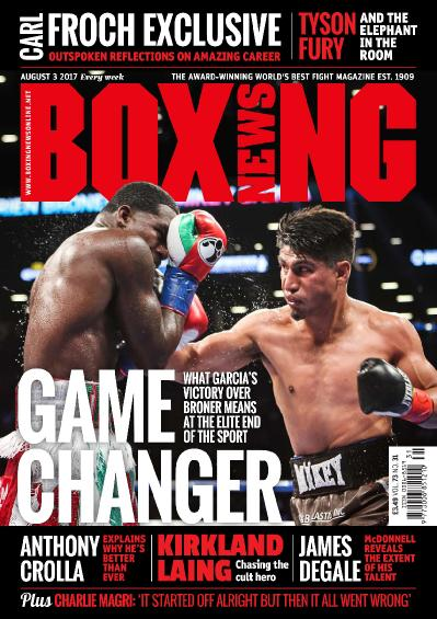 Boxing News  August 3 (2017)