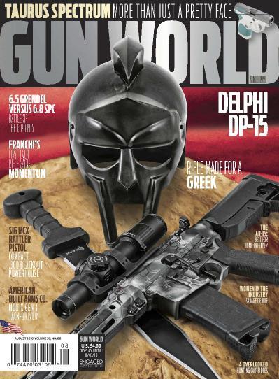 Gun World  August (2018)