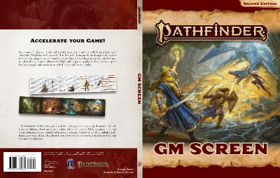 Pathfinder 2E GM Screen Land Cover