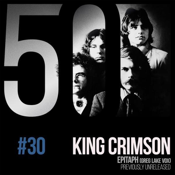 King Crimson Epitaph Greg Lake Vox KC50 Vol 30 DIGITAL 45  2019