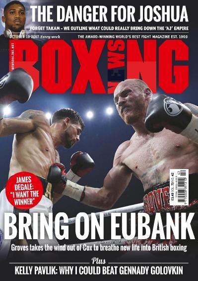 Boxing News  October 19 (2017)