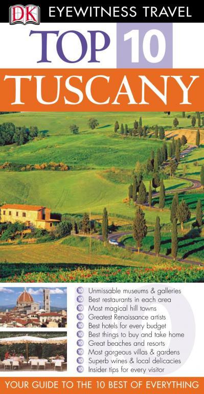 Tuscany (Eyewitness Top Ten Travel Guides)
