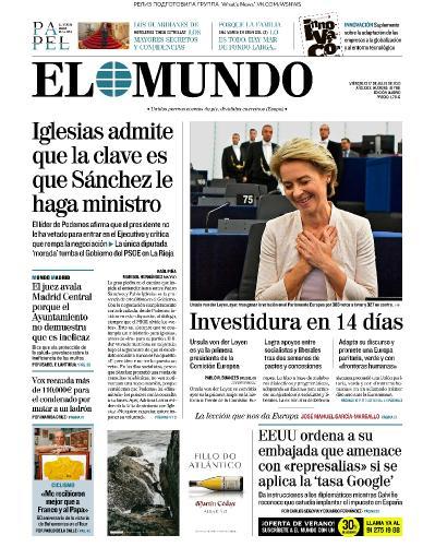 El Mundo   17 07 (2019)