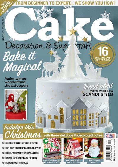 Cake Decoration & & Sugarcraft  December (2017)