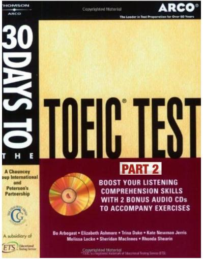 30 Days to the TOEIC Test   Part 2