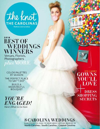 The Knot The Carolinas Weddings Magazine   May (2018)