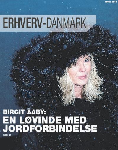 Erhverv Danmark  april (2018)