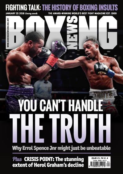 Boxing News  January 25 (2018)