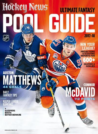 The Hockey News  Ultimate Fantasy Pool Guide 2017 (2018)
