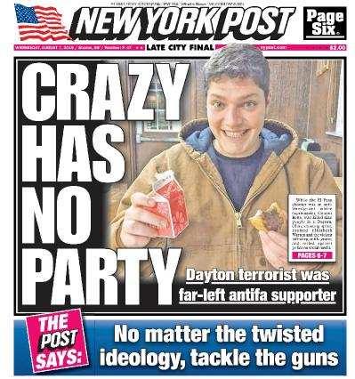 New York Post   07 08 (2019)