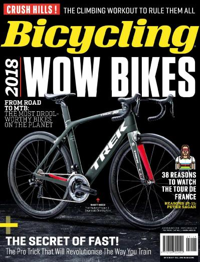 Bicycling South Africa   July (2018)