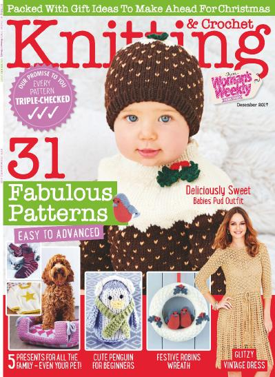 Knitting & & Crochet from Woman s Weekly  December (2017)