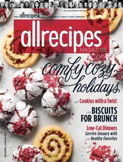 Allrecipes  December 01 (2017)
