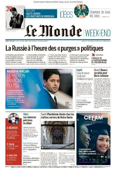 Le Monde   03 08 (2019)