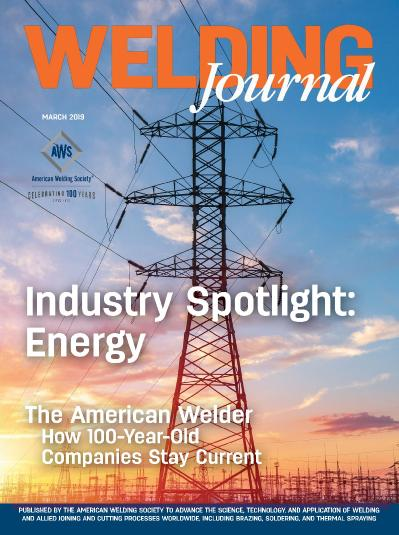 Welding Journal   March (2019)