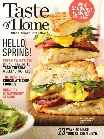Taste of Home   March 20 (2019)