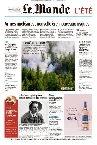 Le Monde   04 08 (2019)