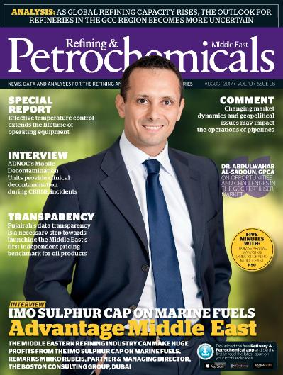 Refining & & Petrochemicals Middle East  August (2017)