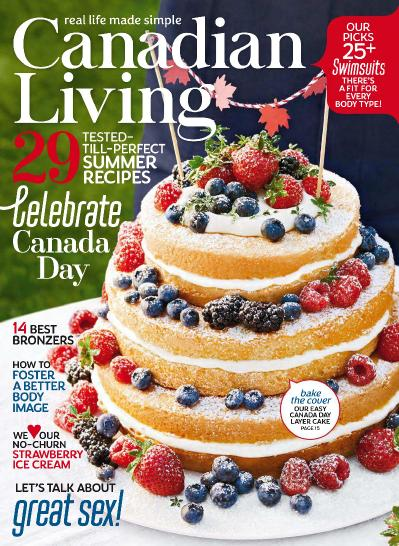 Canadian Living   July (2018)