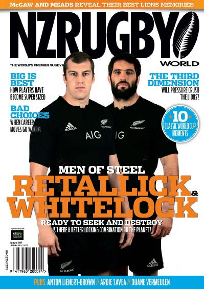 NZ Rugby World  Issue 187  June July (2017)