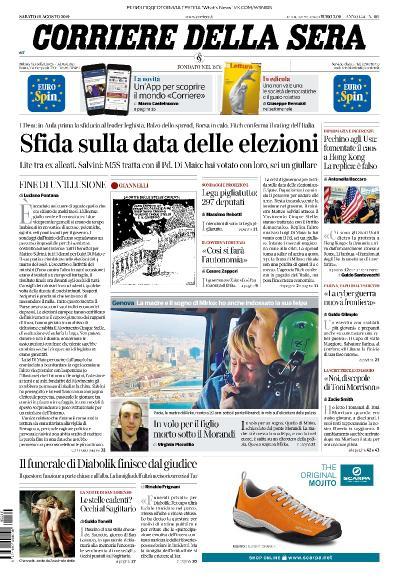 Corriere della Sera   10 08 (2019)