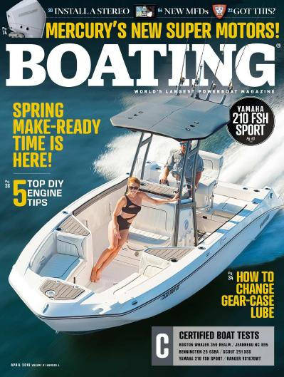 Boating   April (2018)