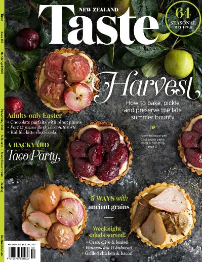 Taste New Zealand   March April (2017)