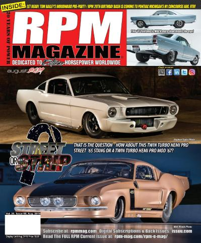 RPM Magazine   August (2019)