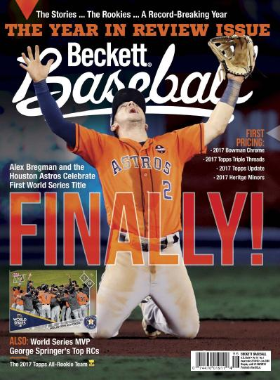 Beckett Baseball  January (2018)