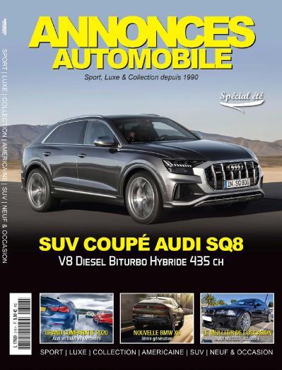 Annonces Automobile N 316  Ao 251 t (2019)