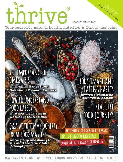 Thrive Magazine  November (2017)