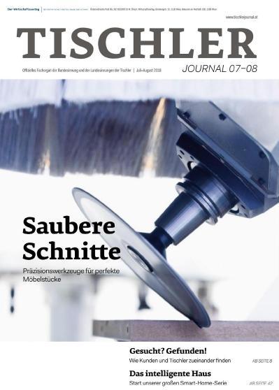 Tischler Journal   Juli August (2018)