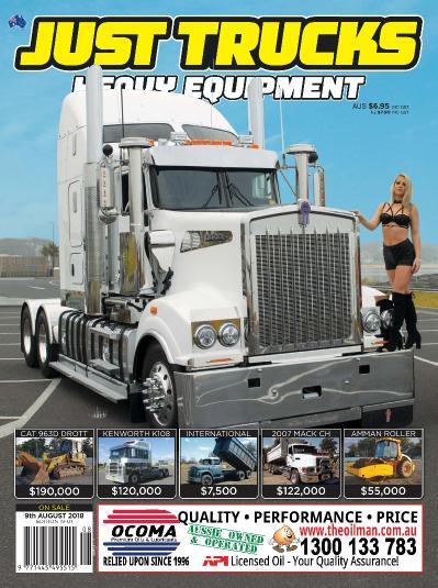 Just Trucks  09 August (2018)